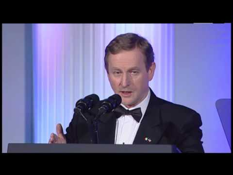 An Taoiseach Enda Kenny T.D. at The American Ireland Fund Washington, DC National Gala 2014