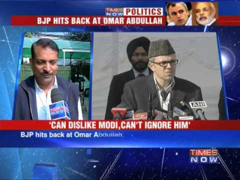 Omar Abdullah in denial over Narendra Modi wave : BJP