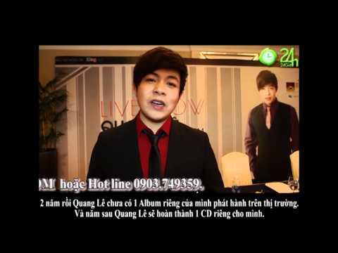Quang Lê quảng bá cho Liveshow Hát Trên Quê Hương (2)