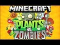 Minecraft Plants Vs Zombies with Vikkstar123 (Minecraft Cubes vs Zombies Mini Game)