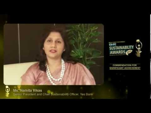 India's Most Sustainable - Yes Bank Ltd