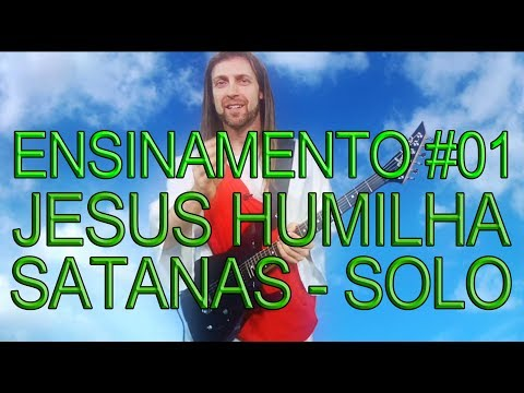 OS ENSINAMENTOS DE JESUS #01 (Video-aula de guitarra)