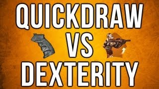 Black Ops 2 In Depth - Quickdraw vs. Dexterity (Stats, Myths, and Combos)