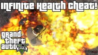GTA 5: Infinite Health/Invincible Cheat XBOX 360 & PS3