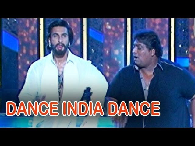 Ranveer Singh promotes Ram-leela on Dance India Dance