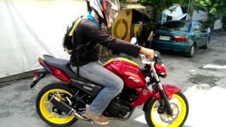 Yamaha FZ16 150cc With Custom Iron Man Paint Job And