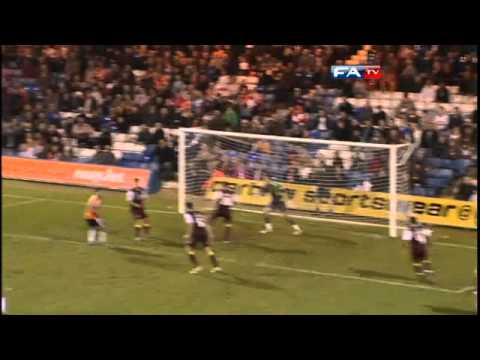 Luton 1-0 Northampton  | The FA Cup 1st Round 12/11/11