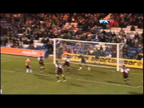 Luton 1-0 Northampton  | The FA Cup 1st Round 12/11/11