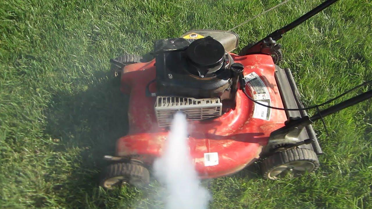 Lawn mower won t start bad gasoline colorant eomb rejected meme