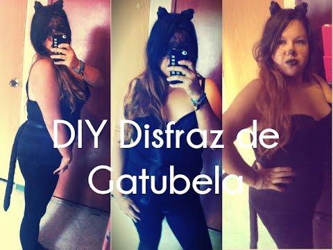 DIY Disfraz #Gatubela / #Catwoman #Especial #DiaDeMuertos FACIL