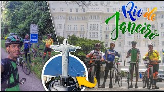 Fomos de bike até o Rio de Janeiro