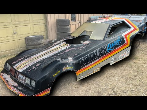 Vintage Funny Car Body Found and Documented - Hot Rod Hoarders Ep. 10