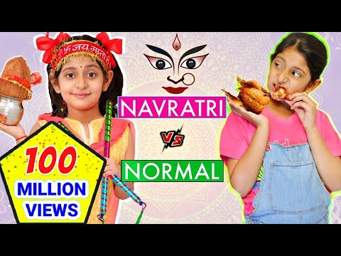 TYPES of KIDS - Navratri vs Normal Days | #Roleplay #Fun #Sketch #MyMissAnand