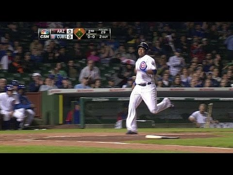 Castillo scores Castro with bloop single