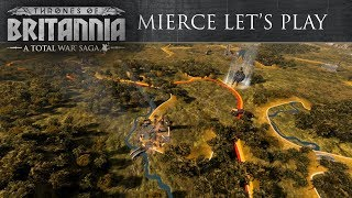 Total War Saga: Thrones of Britannia - Mierce Játékmenet