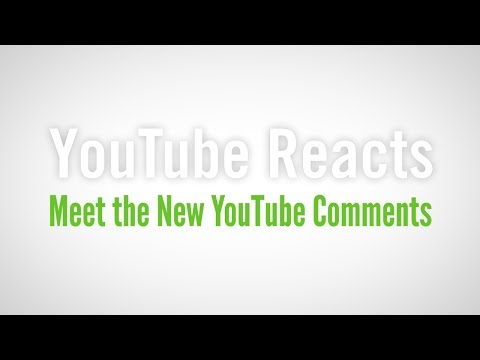 YouTube Reacts to Meet the New YouTube Comments - Part 1