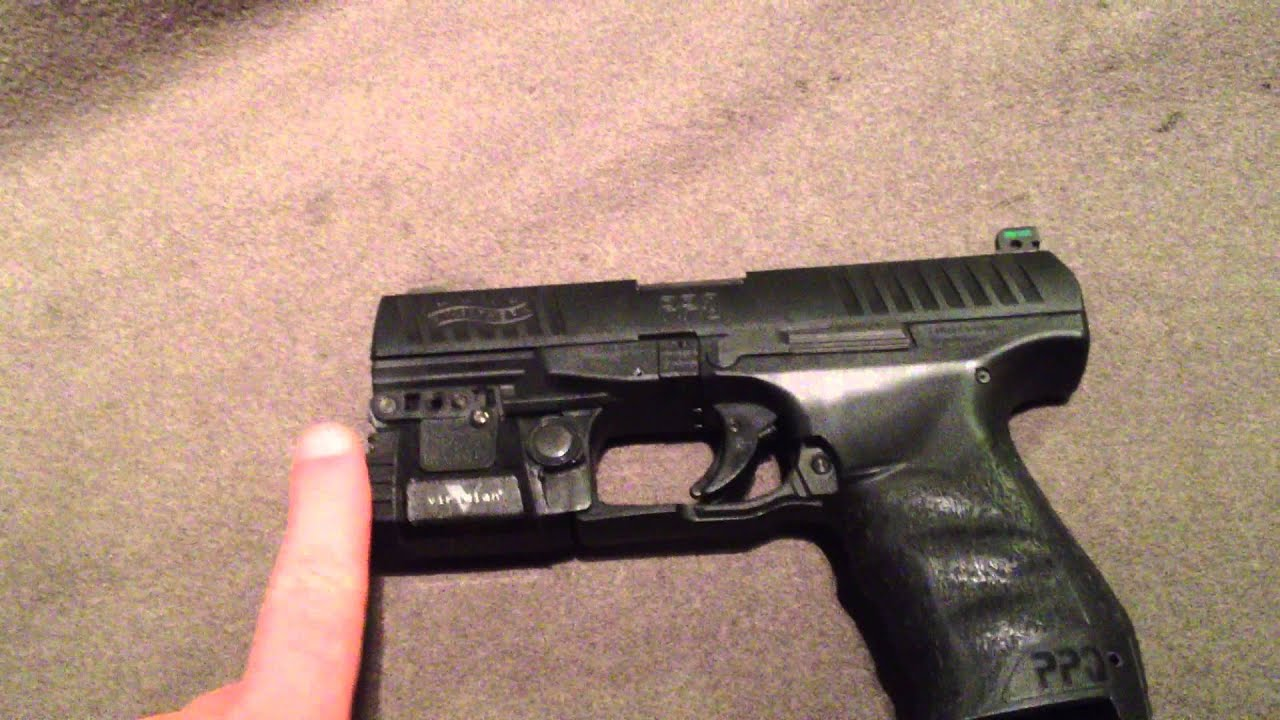 walther ppq laser viridian tactical x5l