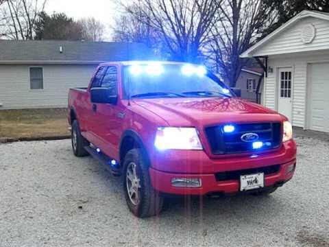ford f 150 firefighters pov blue lights youtube. Black Bedroom Furniture Sets. Home Design Ideas