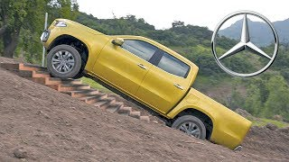 Mercedes X-Class (2018) Off-Road Test Drive. YouCar Car Reviews.