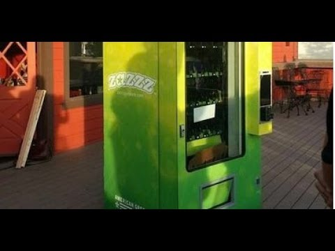 First Pot Vending Machine to Debut in Colorado