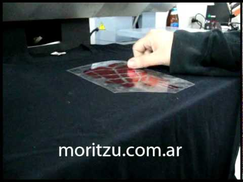 Vinilo Metalizado Termotransferible MORITZU