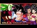 Kale and Caulifla React to Goku vs Kefla Kefla wins