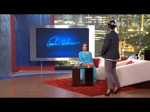 Sarah Sechan - Cinta Laura Kiehl jadi host mengantikan Sarah Sechan