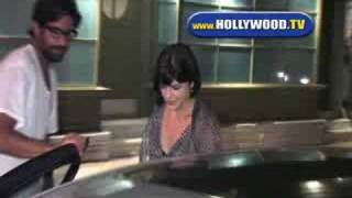 chanel-: Selma Blair Leaves The Spanish Kitchen