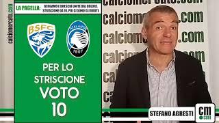 La pagella: Bergamo e Brescia unite dal dolore, striscione da 10. Poi ci sono gli idioti