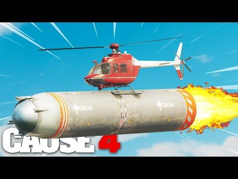 Just Cause 4 - ROCKET POWERED HELICOPTER STUNT!