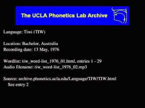 Tiwi audio: tiw_word-list_1976_02