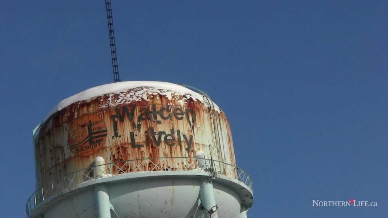 Oak Ridge Water Tower Demolition : Water tower in lively comes down sudbury news youtube