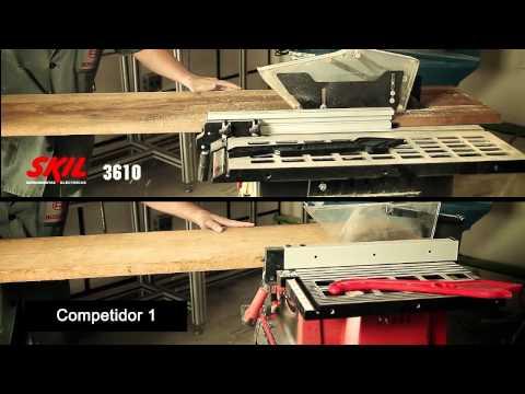 Sierra de mesa 3610 - Skil, con desempeño y precisión
