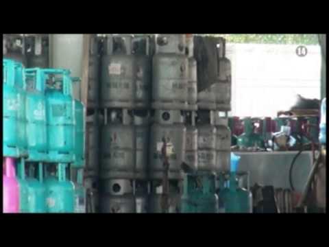 VTC14_Quảng Ninh: Phát hiện vụ sang chiết gas trái phép quy mô lớn
