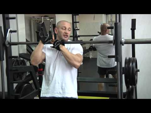 Trening z mistrzem - trening nóg Arkadiusz Misiak tv Kanał S Lubartów 2013