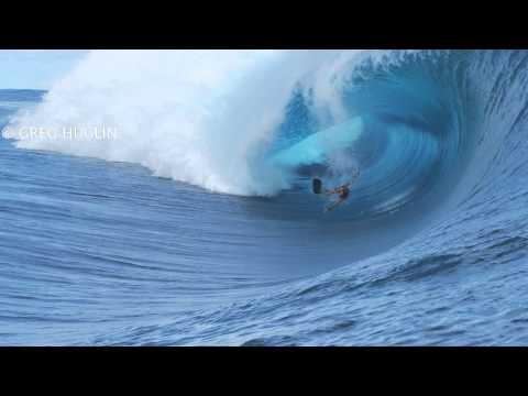 Dan Ryan, Bodyboard wipeout at Teahupoo Tahiti