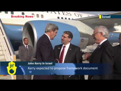 US Secretary of State John Kerry arrives in Israel for latest round of peace process talks