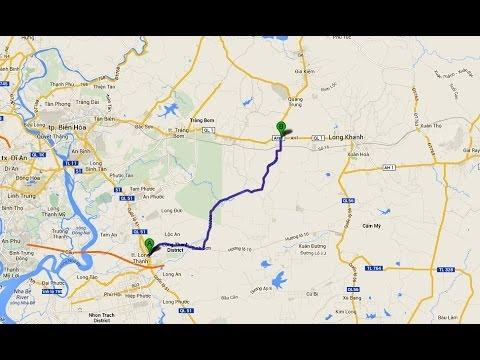 ĐT769 - Đoạn đường đi ngang qua Long Thành, Bình Sơn, Dầu Giây