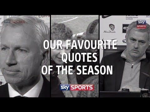 Our Favourite Premier League Quotes of the season - Sky Sports