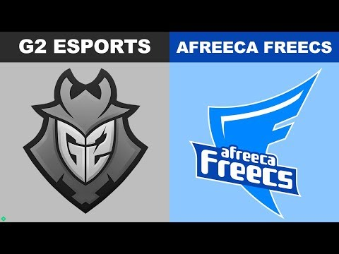 G2 vs Afreeca - Worlds 2018 Group Stage Day 6 - G2 Esports vs AFS