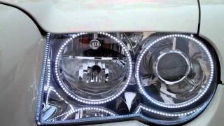 Ultra Audioworks Halo Headlights Chrysler 300c