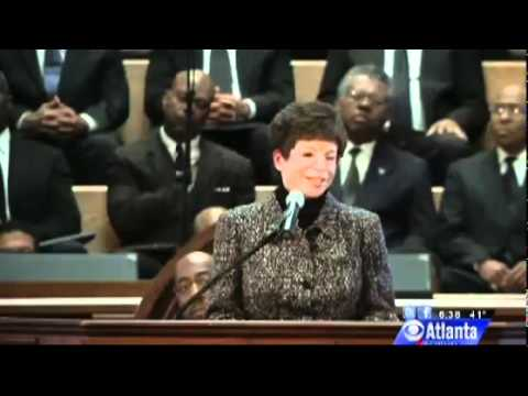 Valerie Jarrett Uses Ebenezer Baptist Church To Give Political Speech