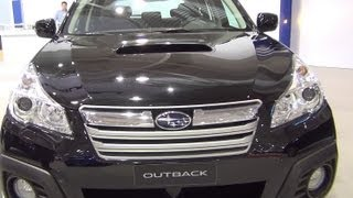 [Subaru Outback 2.0D CVT Lineartronic Exterior and Interior i...]
