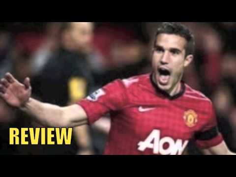Manchester United vs Olympiakos Piraeus 3-0 2014 Robin Van Persie Hattrick Goal 19/3/14 REVIEW
