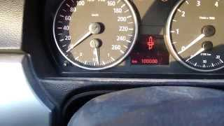 How To Reset BMW 3-serie E90 Service Lights. Years 2005 To