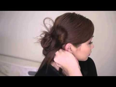 Hướng dẫn búi tóc lệch dễ thương cho cô dâu