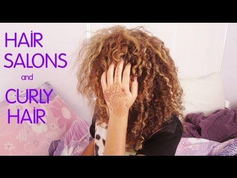 Curly Hair Salon : Hair Salons & Curly Hair - YouTube