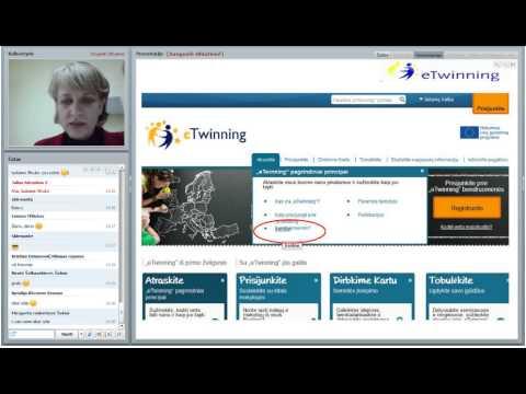 2012.10.25 Pažintis su eTwinning (II dalis, pilnas)