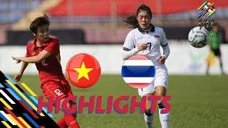 HIGHLIGHT | VIỆT NAM vs THAILAND | BÓNG ĐÁ NỮ SEA GAMES 29