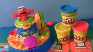 Play Doh Color Mixer Learn Colors As Elmo Talks With